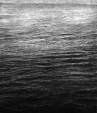 Ebb Tide 68x60 2010 conte crayon on paper