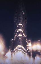 Flatiron #2 8x5ft 1996 conte crayon, watercolor on paper, Millenium Partners, NYC