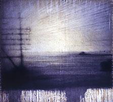 Berlin #1   55x60   1995 conte crayon, watercolor on paper