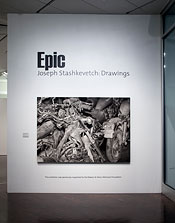 Epic: Joseph Stashkevetch Drawings. Denver Art Museum Nov. 11, 2013 - July 13, 2014