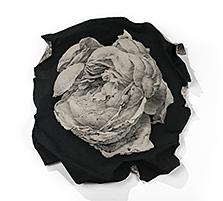 Lesage, 2018, conte crayon on rag paper. 26x25